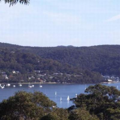 The view of Pittwater,Bayview, Church Point and Scotland Island from the deck.