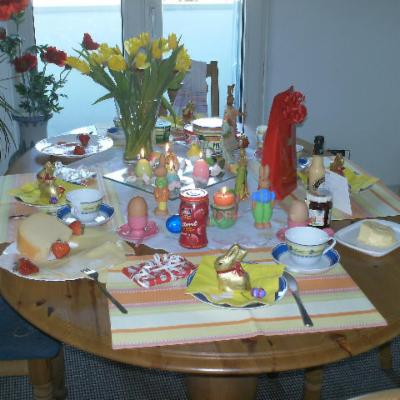 Easter in our kitchen