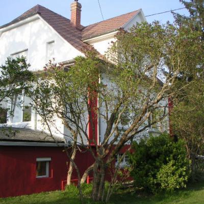 Notre maison vue du jardin