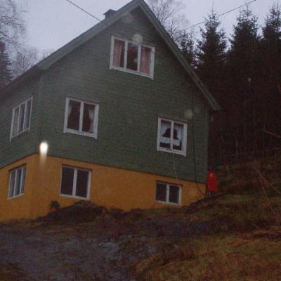 Osen Bru , Osfossen , Bygstad , Gaular , Sogn og fjordane