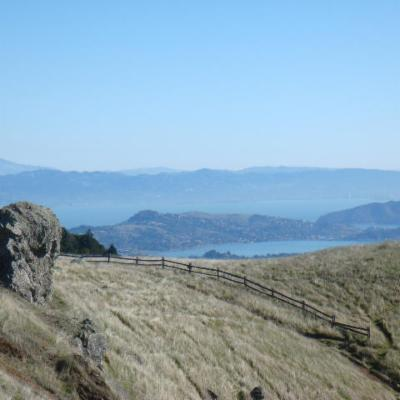 Views from Mt Tam! 15 minutes drive from Mill Valley.